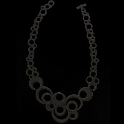 Necklace Night Bubbles | Black