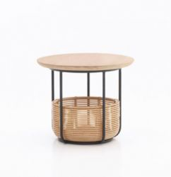 Basket Side Table Vivi