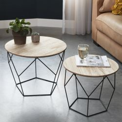 Tables d'Appoint Gustav Set de 2