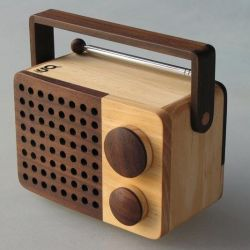Houten Radio Magno Mini