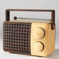 Wooden Radio Magno wr01a-2Bipod