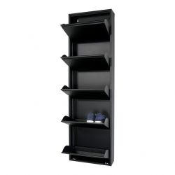 Shoe Cabinet Billy 5 | Black
