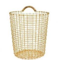 Bin 18 Basket | Brass