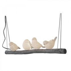 Pendant Lamp Birds on a Branch | White