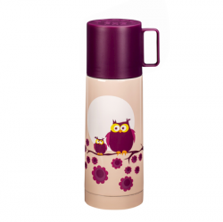 Thermos Small Owl | Plume Red