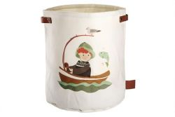 Storage Basket Canvas Coast | Green