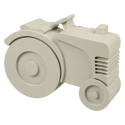 Lunchbox Traktor | Grau