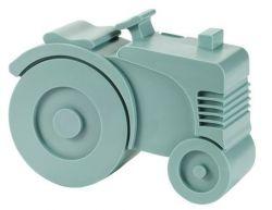 Lunchbox Traktor | Eisblau