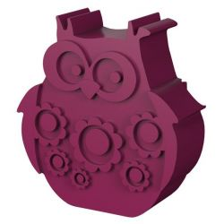 Lunchbox Owl | Plum Red