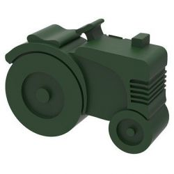 Lunchbox Tractor | Dark Green