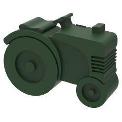 Lunchbox Traktor | Dunkelgrün