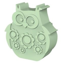 Lunchbox Owl | Light Green