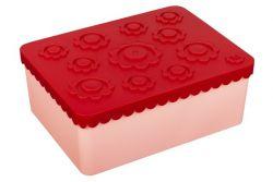 Lunchbox Blumen | Rot & Rosa