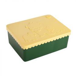 Lunchbox Bär | Grün & Gelb