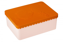 Lunchbox Fisch | Orange & Rosa