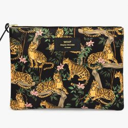 Tasche XL | Black Lazy Jungle
