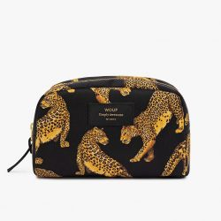 Make Up Bag Big Beauty | Black Leopard