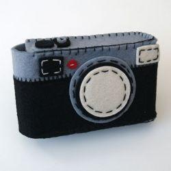 Omhulsel voor Foto Apparaat Zwart