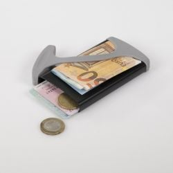 Wallet HUG | Black & Grey