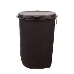 Flextrash Mülleimer 9 L | Schwarz
