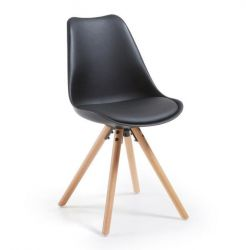 Chair Tars | Black & Wood