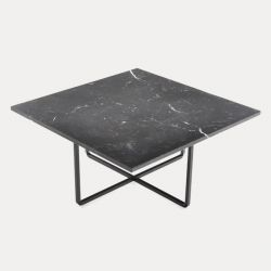 Table de Salon Ninety 80 x 80 | Black Marquina