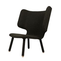 Tembo lounge chair, black green