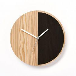 Horloge Primary Half | Noir