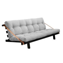 Sofabed Jump | Black Frame | Light Grey