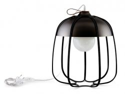 Lampe de Table Tull | Noir/Nickel