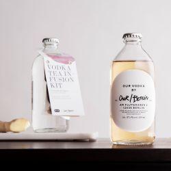Unser/Berliner Wodka-Aufguss-Set Schwarzer Tee