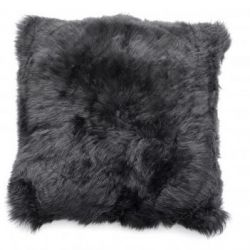 Cushion Icelandic Skin | Black