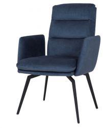 Stuhl mit Armlehne Uri | Blau