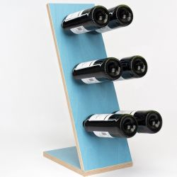 Wine Rack Compact Six | Blue