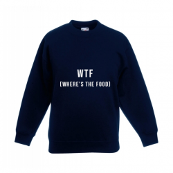 Kinder-Pullover WTF | Marine
