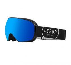 Snow Goggles Unisex K2 | Black Frame, Blue Revo Lens