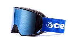 Snow Goggles Unisex Aspen | Black Frame, Revo Blue Lens