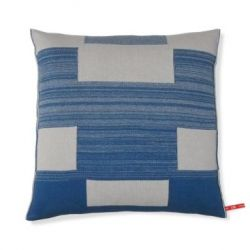 Blocks Cushion | Blue