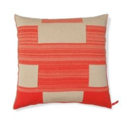 Blocks Cushion | Red