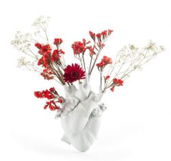 Love in Bloom Vase | White
