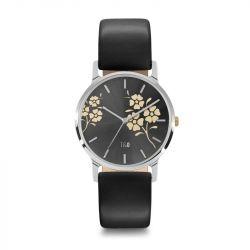 Frauen-Uhr Bloom 34 | Schwarz