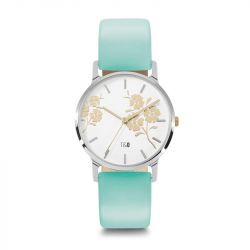 Frauen-Uhr Bloom 34 | Türkis