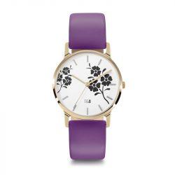 Frauen-Uhr Bloom 34 | Violett