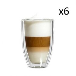 Glasses Latte Macchiato Grande Set of 6