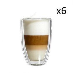 Glazen Latte Macchiato Grande Set van 6