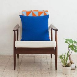 Cushion | Electric Blue