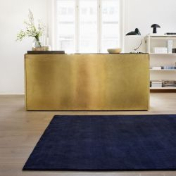 Tapis Earth | Bambou Bleu