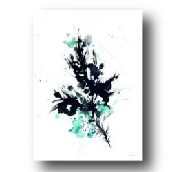 Poster 'Blue Quill'