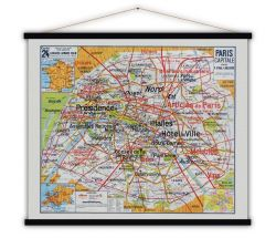 Vintage-Poster | Hauptstadt Paris