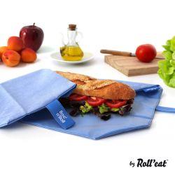 Wiederverwendbare Sandwichverpackung Boc'n'Roll Eco | Blau